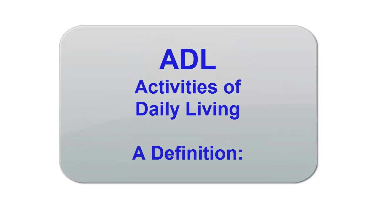 activities of daily living 2 Activities of daily living most long term care insurance policies will pay benefits when you cannot do 2 out of 6 of the activities of daily living.