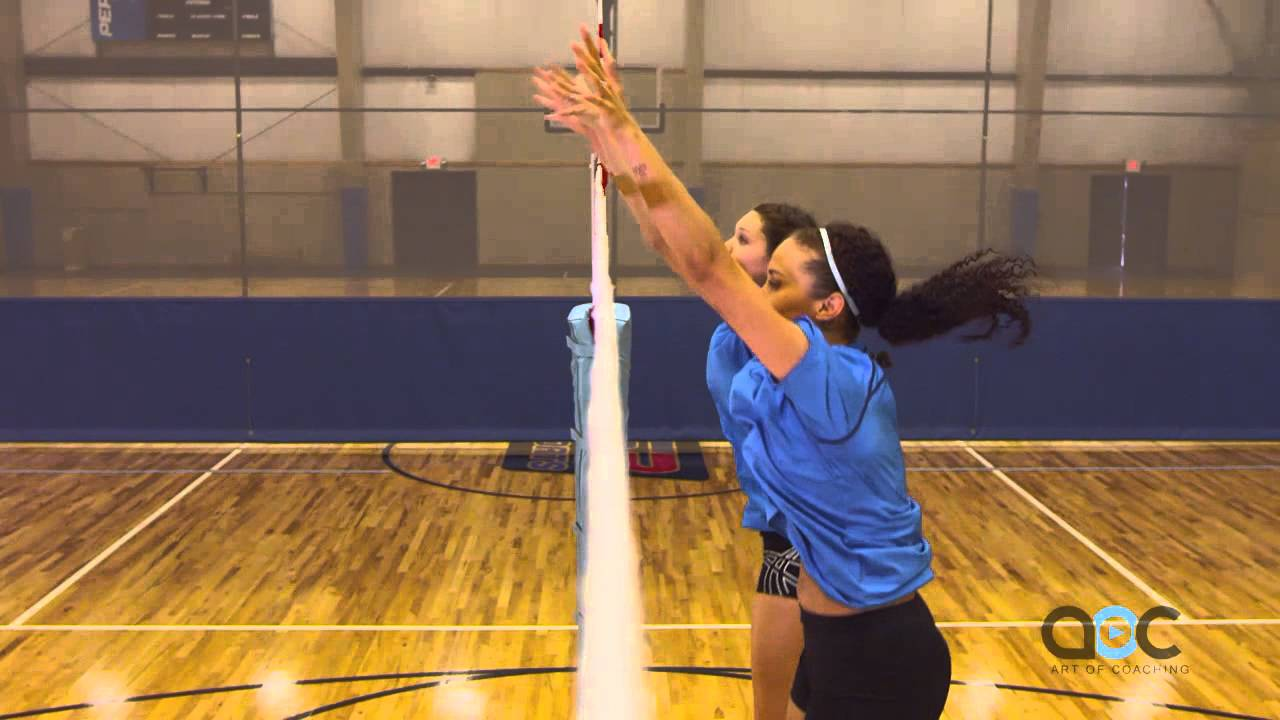 Blocking Tips Terry Liskevych The Art Of Coaching Volleyball Youtube