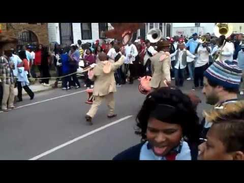 Grammy Award Winning Rebirth Brass Band and Treme Sidewalk Steppers 02/05/2012