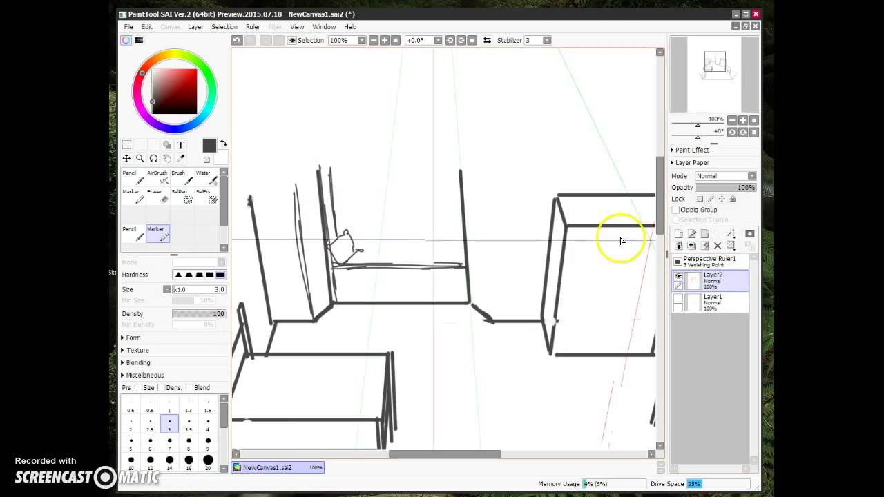 super fast demo of paint tool sai 2 youtube. Black Bedroom Furniture Sets. Home Design Ideas