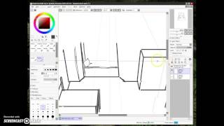 super fast demo of Paint Tool Sai 2!