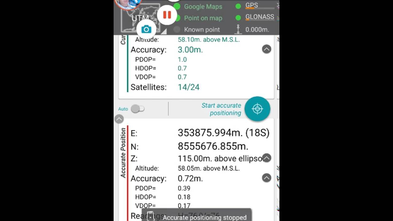 mobile topographer pour iphone