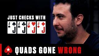 How To NOT PĻAY QUADS ♠️ PokerStars