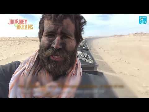 "Taking a ride on Mauritania's ""desert train"""