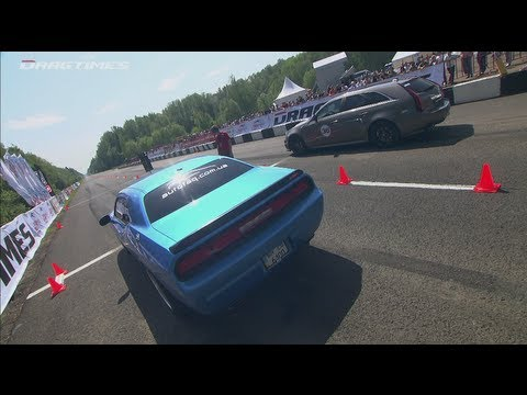 Cadillac CTS-V vs Dodge Challenger SRT-8 vs Mercedes C63 AMG