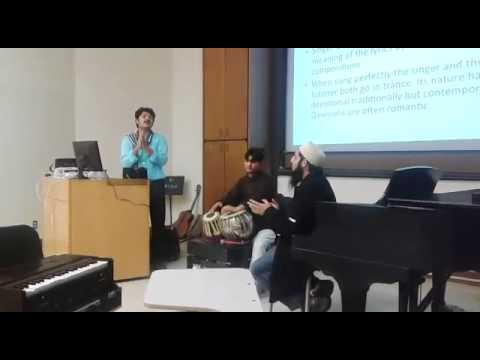 Presentation for Ethnomusicology Grads at BSM