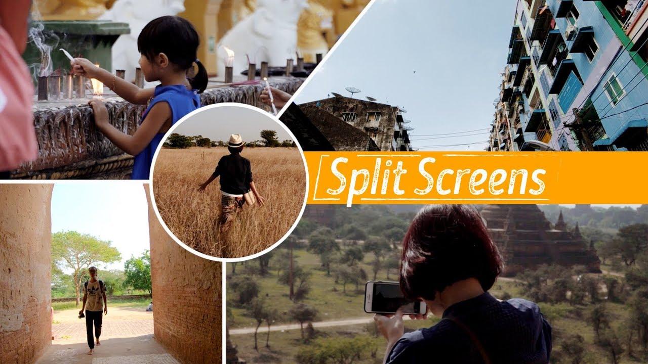 Hướng dẫn chia màn hình - Split Screens // Premiere Pro CC