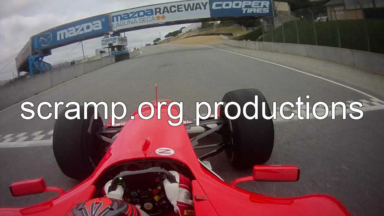 On-Board Schumacher's Ferrari F2004 Chassis 234 - Laguna Seca