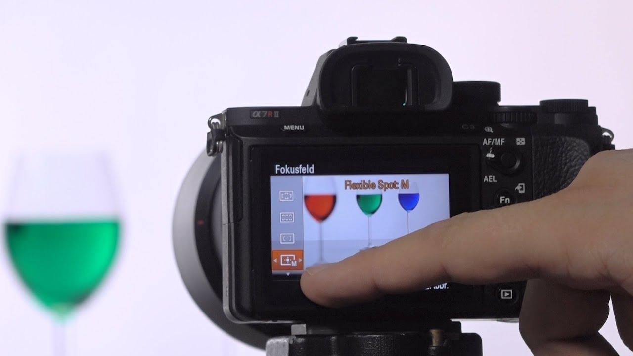 Fokusfeld Verschieben Bei Sony Alpha Kameras A6000 A7ii A7rii Youtube