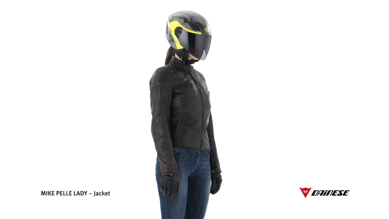 en piel Dainese de Mike moto Mujer Chaqueta 8m0wnvN