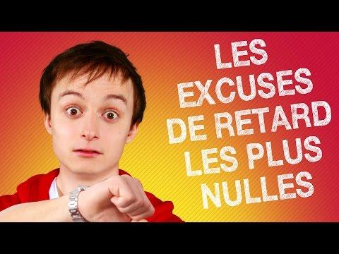 TOP #5 DES EXCUSES DE RETARD LES PLUS NULLES !
