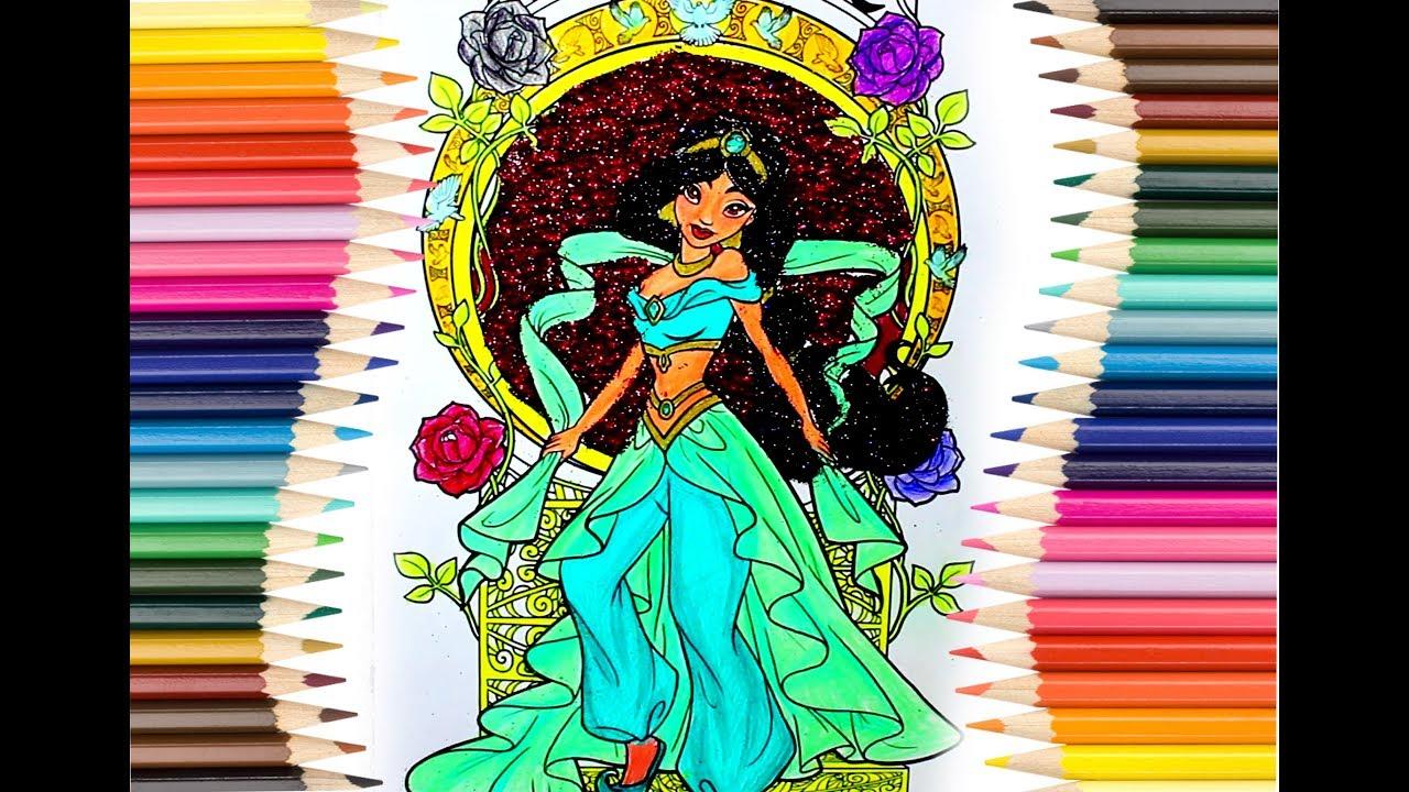 Prenses Yasemin Boyama Sayfası Eğlenceli Boyama Kitabı Youtube