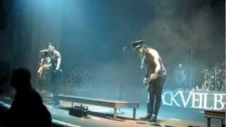 Black Veil Brides - Andy talks - London (15.02.2013, O2 Academy Brixton)