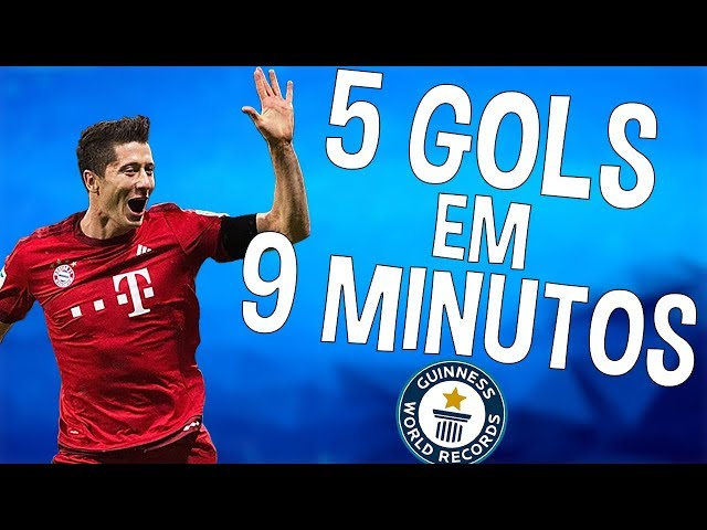 ELE FEZ 5 GOLS EM 9 MINUTOS!! | RECORDES DO FUTEBOL #2