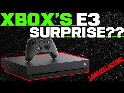 LEAKED Listing Shows HUGE News For Unannounced Xbox One Exclusive! Could This Be An E3 Surprise?