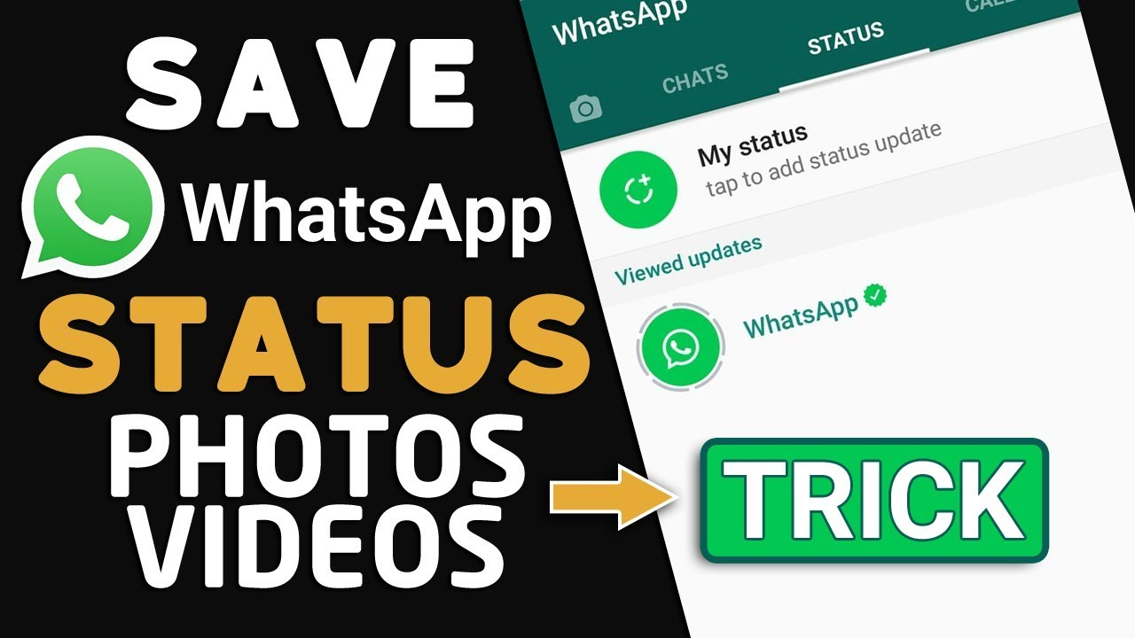 Whatsapp Hack To See Old Expired Status Photos And Videos After 24h And Save Them 2017 Youtube
