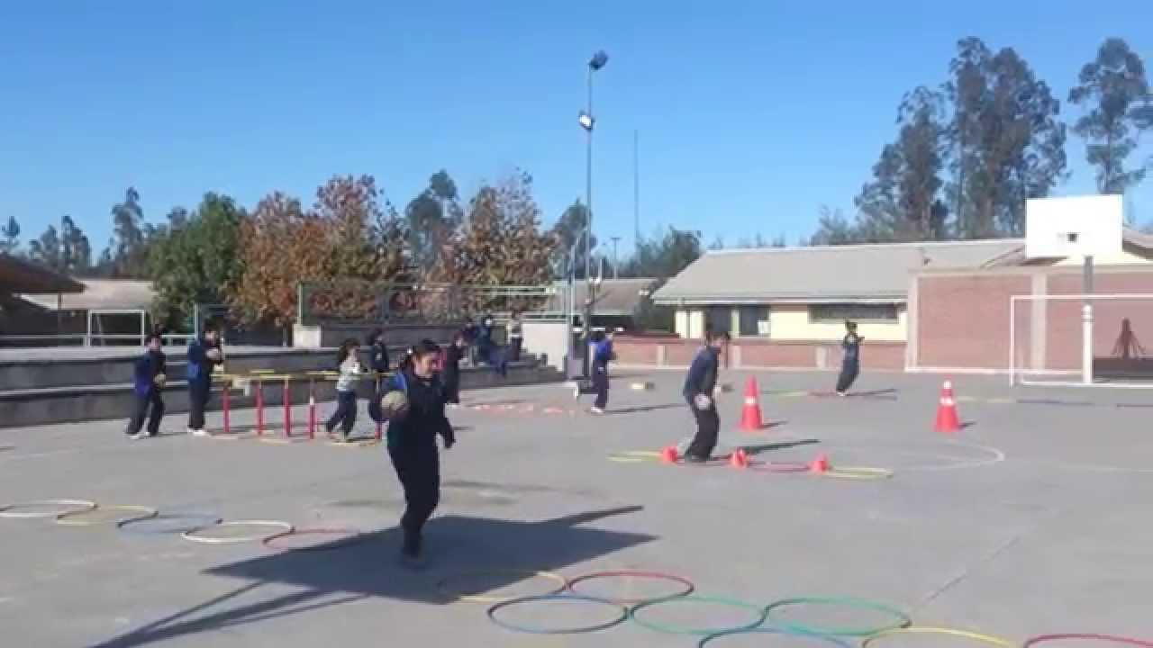 Circuito Motriz : Educación física circuito habilidades motrices youtube