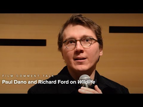 Paul Dano & Richard Ford on Wildlife | Film Comment Talk