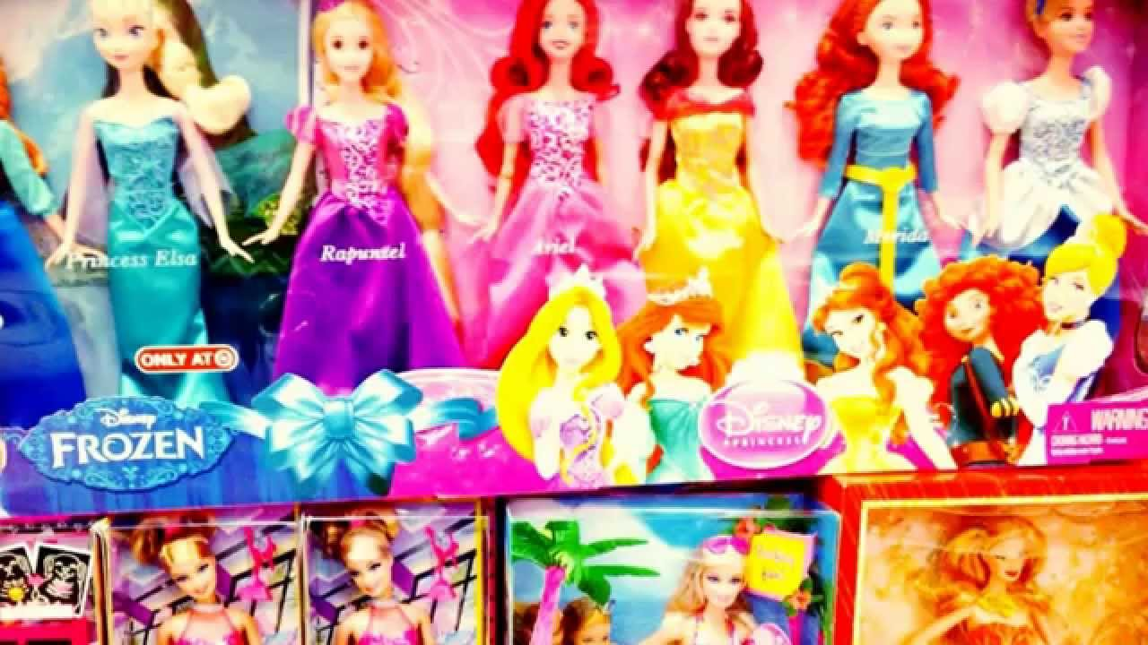 Disney- princess-all of them-elsa-Anna-frozen-ariel-belle-rapunzel ...