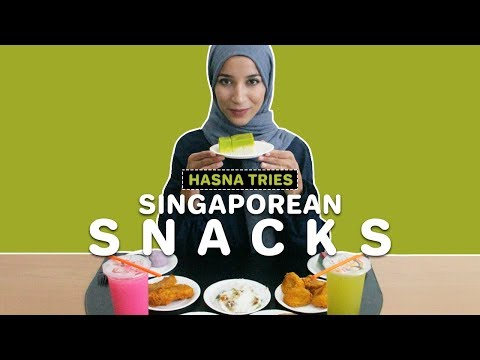 Singaporean Delights & Hasna - There's Always A First For Everything