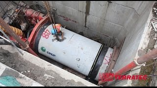 TERRATEC's DN1500 Microtunnelling Systems at work in Bangkok