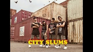 City Slums | Raja Kumari ft Divine | Gaurav N Chandni Dance Choreography