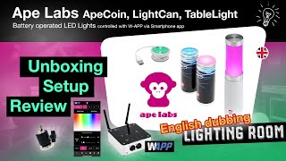Ape Labs - Battery operated LED Lights / Check / Review
