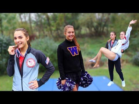 DIY Gymnastics and Cheer Halloween Costumes!