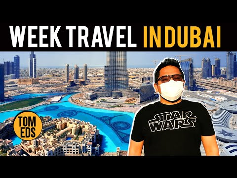 A Week TRAVEL VLOG In DUBAI 2021! The City That NEVER SLEEPS at Night!