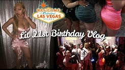 MY 21ST BIRTHDAY IN VEGAS VLOG: Clubbing + We Got in a Fight!!