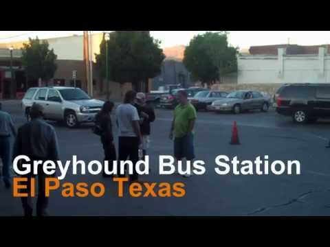 GREYHOUND-El Paso Bus-Station-TheZuell