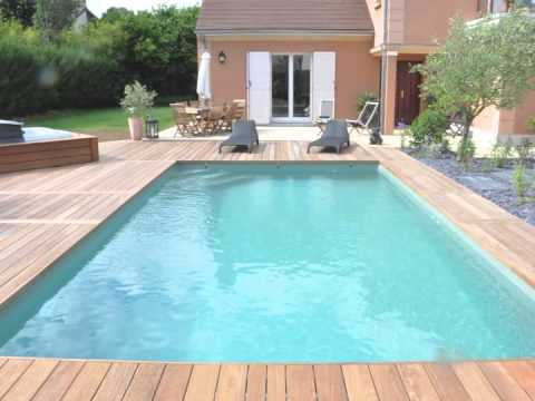 Id es de construction de piscines belles piscines par for Construction piscine desjoyaux youtube