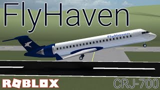 FlyHaven's First Flight - Roblox Airline Review
