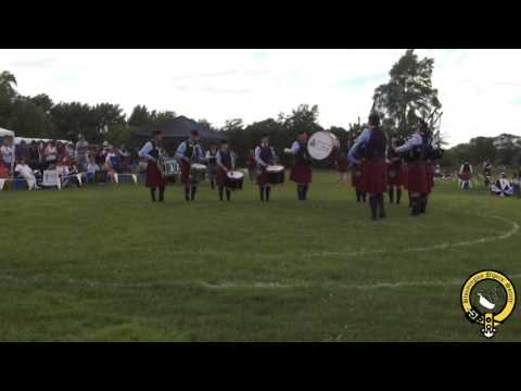 Kansas City St  Andrew Pipes & Drums Grade 3 Medley - Chicago Games