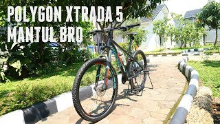 Review Sepeda Gunung Cross Country Polygon Xtrada 5 2018 Mantul Bro