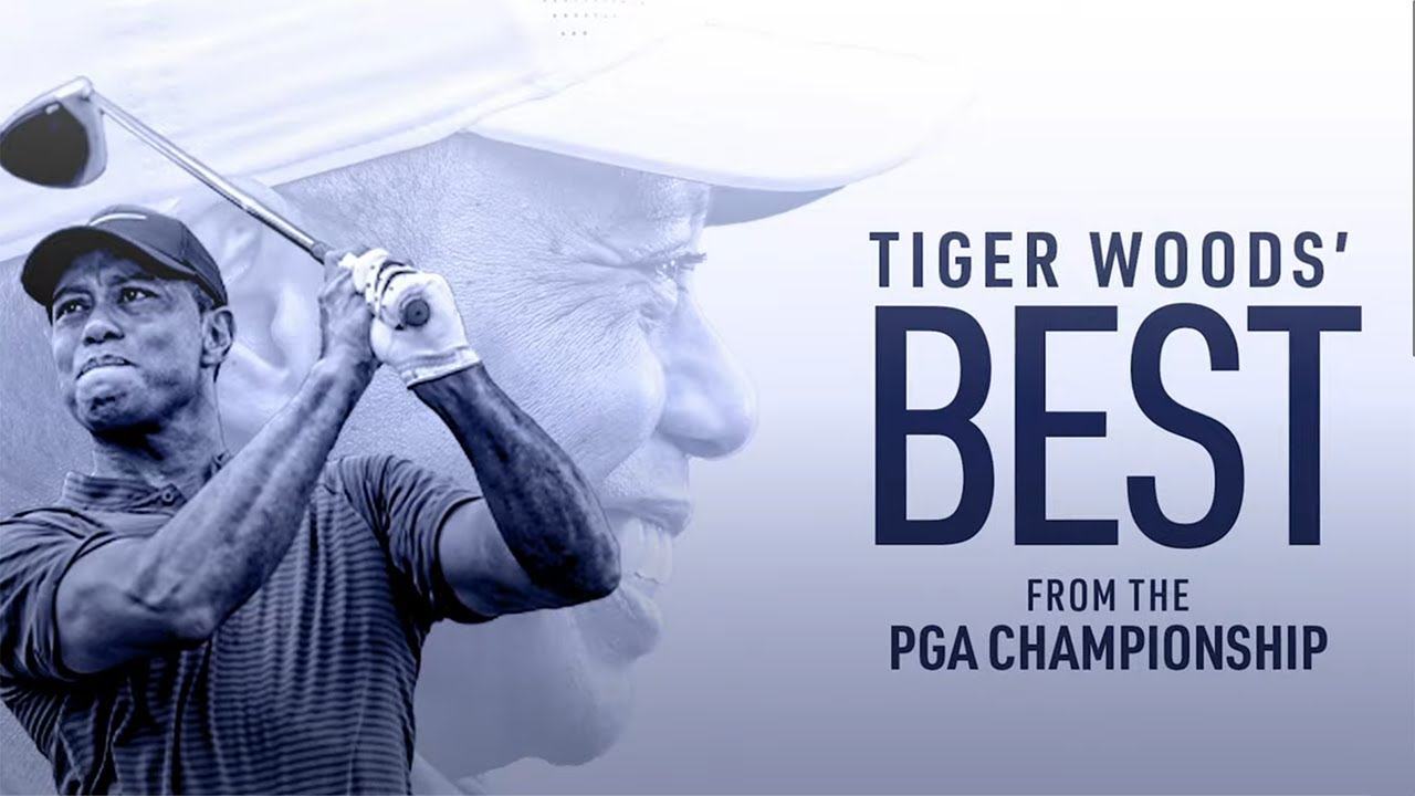 Tiger Woods   Incredible Shots from the PGA Championship