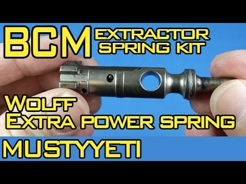 Bcm Ar 15 Extractor Spring Upgrade Installation Review Hd Youtube