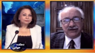 "Freeda Saba in an exclusive interview with Dr. Hossein Mousavian, Director of ""Jebh-e-Melli Iran"""