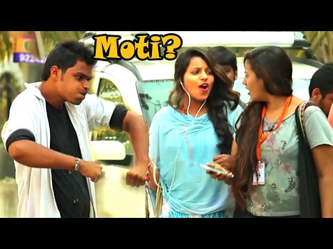 "Calling Cute Girls ""MOTI"" Prank 