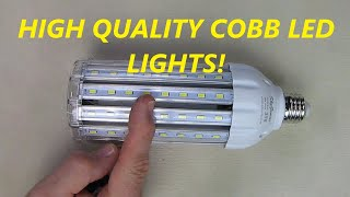 REVIEW SkyGenius 35W 3500Lm 6500K Daylight LED Corn Bulb 300 Watt Equivalent