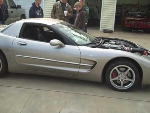 C5 Corvette G5x3 Cam And Lg Headers Youtube