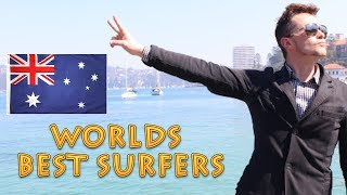 AUSTRALIA DOMINATES The World Surfing League WSL
