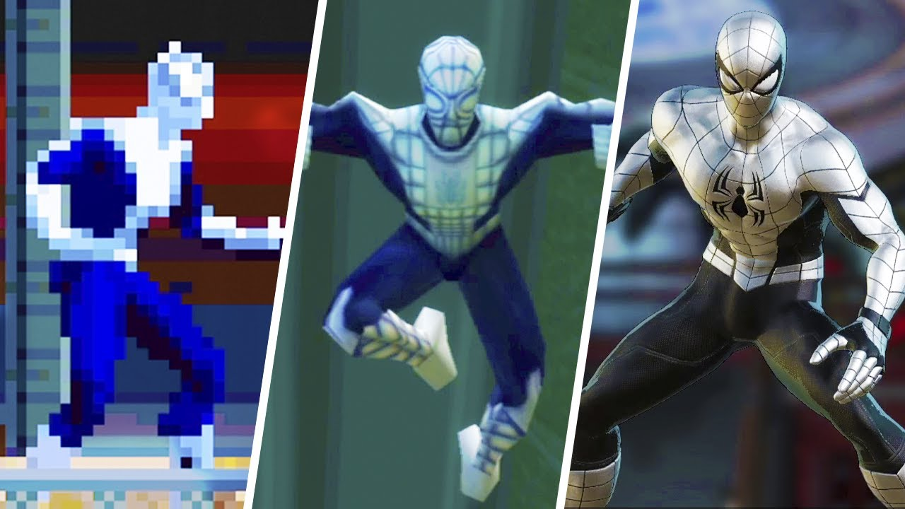 Spider-Armor MK. 1 Evolution in Spider-Man Games