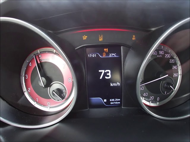 Suzuki Swift Sport Hybrid Acceleration