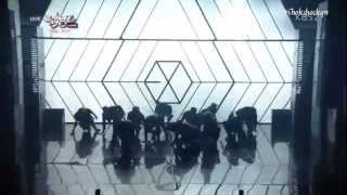 130531 Music Bank EXO -  Intro + Wolf