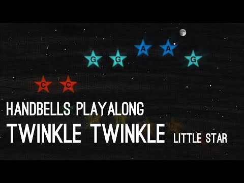 Twinkle Twinkle Little Star - Handbells Playalong