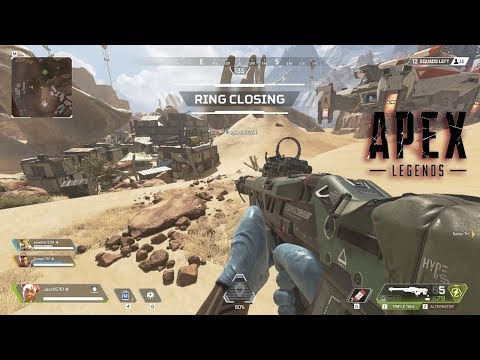 Apex Legends - First Win Gameplay Review New Battle Royale Games 2019 F2P PC PS4 Xbox One