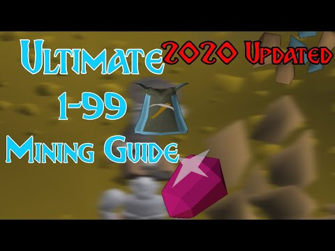 Updated 2020 Ultimate 1-99 Osrs Mining Guide Fast / Afk / Profit