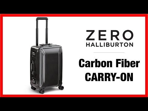 Zero Halliburton Carbon Fiber Carry On Suitcase