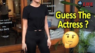 Hot Actress Spotted In All Black Outfit At Bandra: Mandana Karimi |
